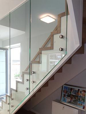 Holz Bolle GmbH Treppe mit Glas